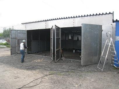 Металлоконструкции гаражей