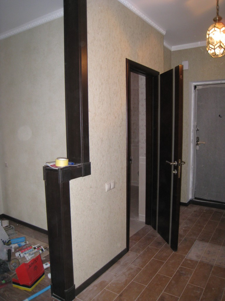 Ремонт 3-х комнатной квартиры с двумя санузлами, площадь - 96 кв..