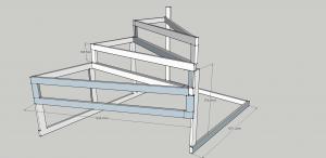 Металлокаркас лестницы своими руками расчеты