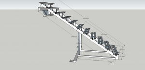 Лестница для из223г