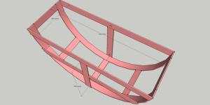 Размеры кронштейна подходят для большинства колёс наиболее распространённых авто.