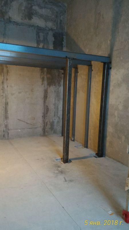 Межэтажное перекрытие. Антресольный этаж.