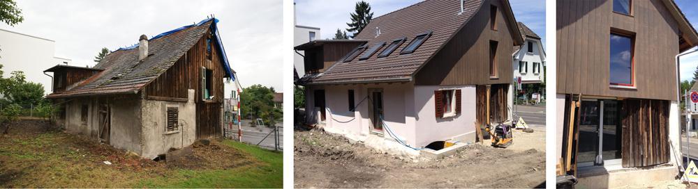 Реконструкция одноэтажного дома